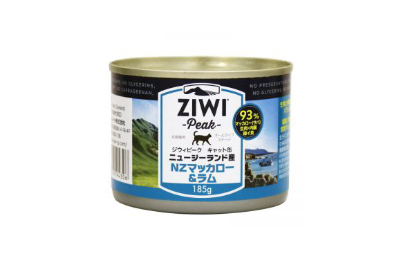 ZIWI CANNED CAT FOOD MACKEREL&LAMB